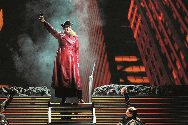 パリ・オペラ座へようこそ ライブビューイング シーズン2 2013~2014 第4作 西部の娘(オペラ)