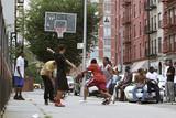 PLAYGROUND BASKETBALL, NEW YORK CITY