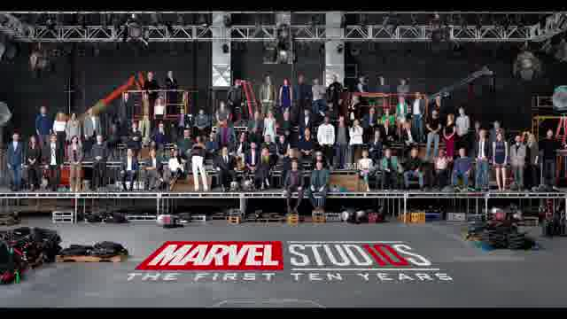 マーベル・スタジオ10周年記念 特別映像 メイキング