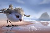 ひな鳥の冒険