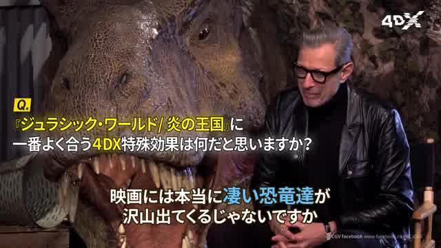 4DX版特別インタビュー映像
