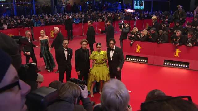 ベルリン国際映画祭 レッドカーペット映像(2)