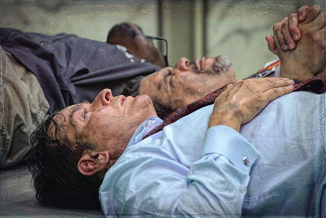 チャーリー・シーンの「ナインイレヴン 運命を分けた日」の画像