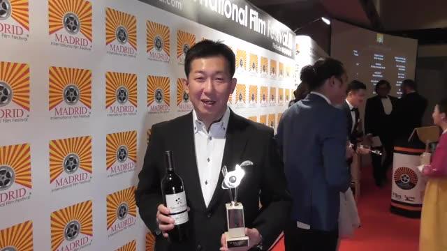 柿崎ゆうじ監督マドリード国際映画祭受賞コメント映像