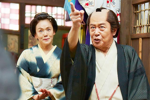 大竹しのぶの「のみとり侍」の画像