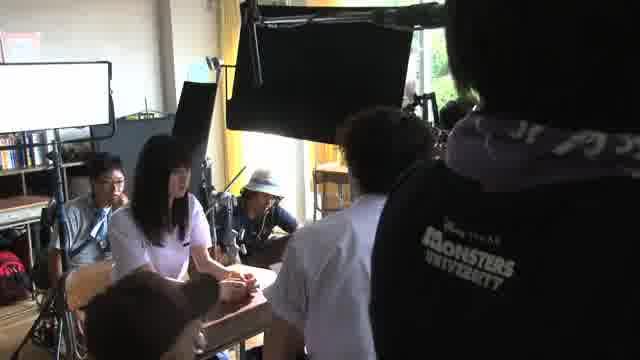 メイキング映像:教室のシーン