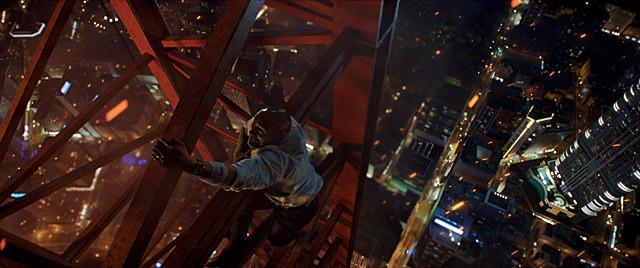 ドウェイン・ジョンソンの「スカイスクレイパー」の画像