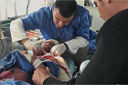 ノーウェア・トゥ・ハイド あるイラク人看護師の記録