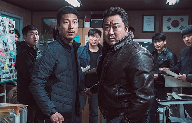 ユン・ゲサンの「犯罪都市」の画像