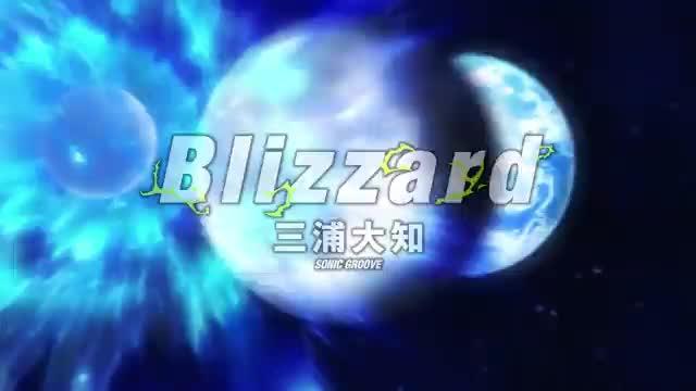 主題歌「Blizzard」映画版ミュージックビデオ