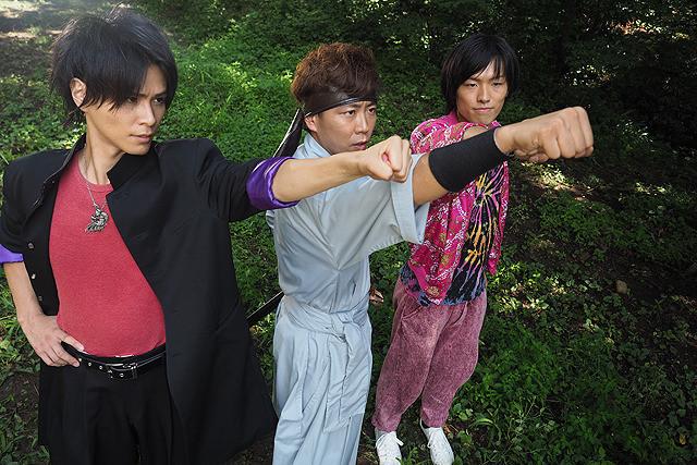 安田一大の「ヒーローズユナイト 結束!ヤツルギ×トライオー×忍者烈風」の画像