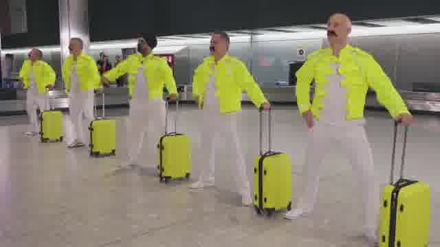 ヒースロー空港映像