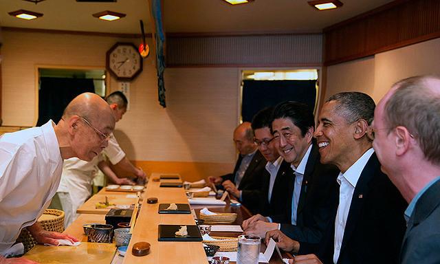 バラク・オバマの「世界が愛した料理人」の画像