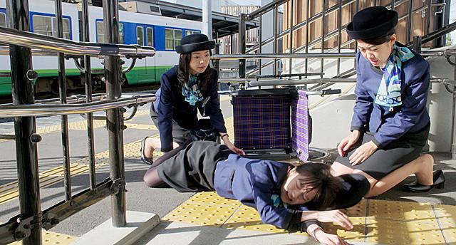 横澤夏子の「えちてつ物語 わたし、故郷に帰ってきました。」の画像
