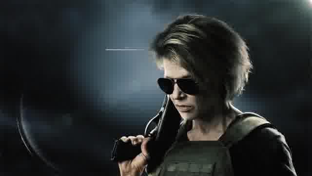 キャラクター映像:サラ・コナー、T-800