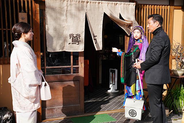 森川葵の「嘘八百 京町ロワイヤル」の画像