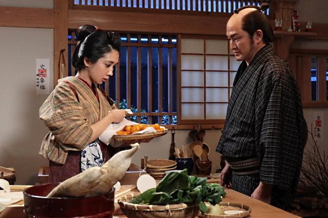 松本穂香の「みをつくし料理帖」の画像