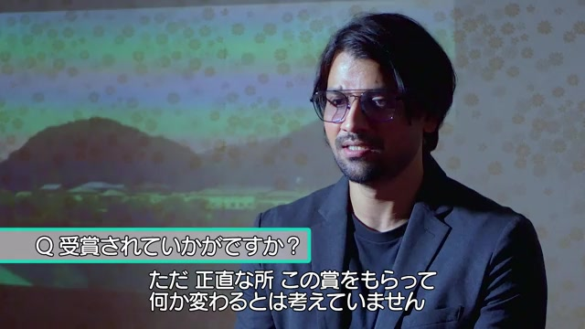 第14回ジャパン・カッツ大林賞受賞コメント