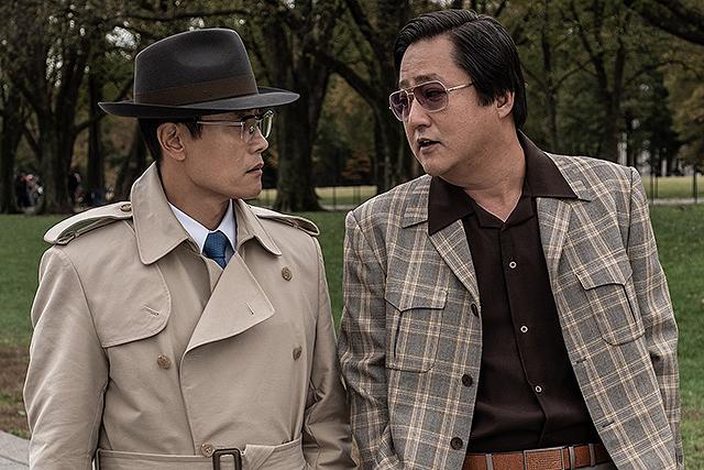 イ・ビョンホンとクァク・ドンウォン