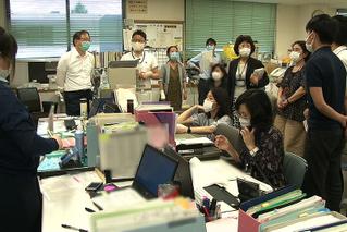終わりの見えない闘い 新型コロナウイルス感染症と保健所