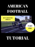 American Football Drills - Run Defense Drills - PART I