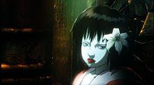 映画の冒頭に登場する少女型アンドロイド