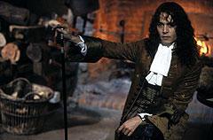 ロチェスター伯爵に扮したジョニー・デップ