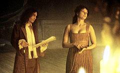 エリザベスを演技指導するロチェスター