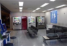 マイケルさんが住んでいたと思われる第1ターミナルのミーティングポイント