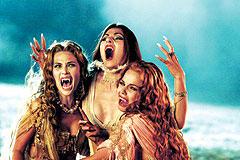 本作に登場するドラキュラ伯爵の3人の花嫁