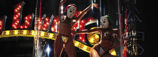 「ファイナル・カット」で追加されたチャイナタウンのダンサーが踊るシーン