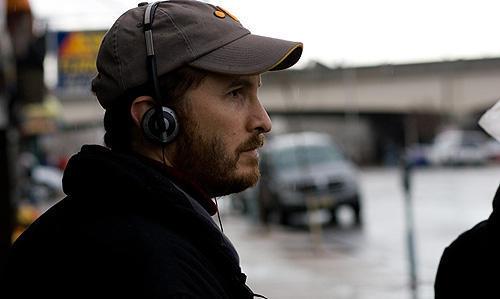 撮影中のダーレン・アロノフスキー監督 ハーバード大学出身の秀才