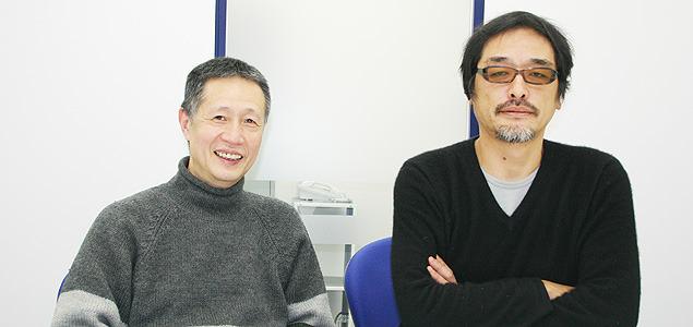 eiga.com 新作映画評論でもおなじみの芝山幹郎氏(左)とサトウムツオ氏
