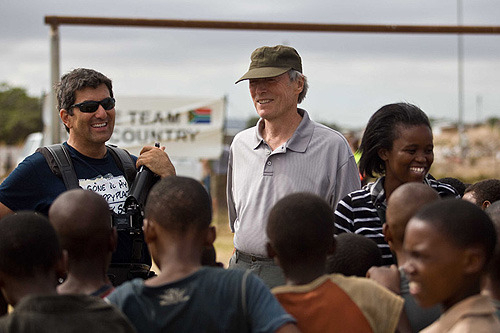 「インビクタス」では全編南アフリカロケを敢行