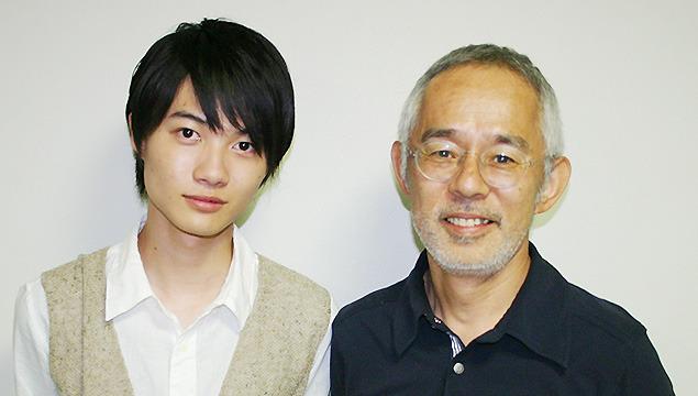 ジブリ作品のベテラン神木隆之介(左)とジブリの名物プロデューサー・鈴木敏夫氏
