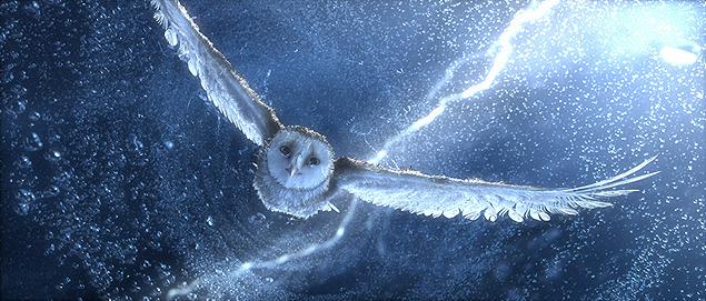 実写と見まごう迫力でフクロウたちの冒険を描く
