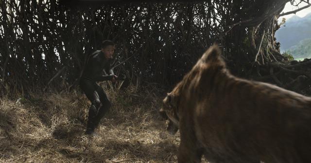 人類を排除するべく進化した猛獣がキタイを襲う