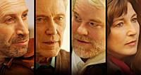 (左より)マーク・イバニール、クリストファー・ウォーケン、フィリップ・シーモア・ホフマン、キャサリン・キーナーら名優が集結