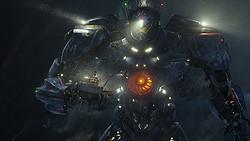 """人型巨大兵器""""イェーガー""""がKAIJUに挑む"""