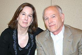 キャスリーン・ケネディ(左)とフランク・マーシャル