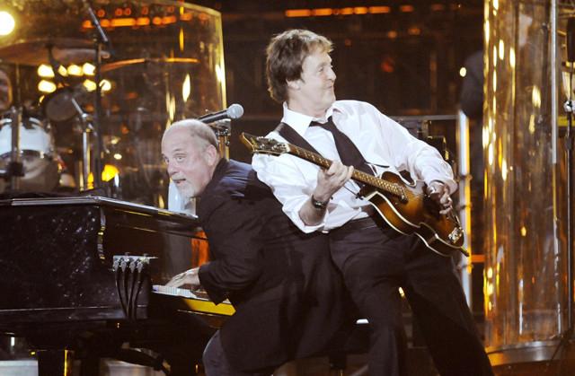 ビリー・ジョエルとポール・マッカートニーが夢の共演