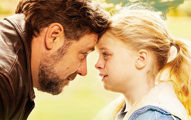 名優ラッセル・クロウが父親役を熱演するヒューマン・ストーリー
