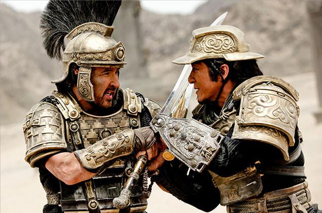 ローマ軍将軍VS中国西域警備隊長! キューザックとジャッキーの対決にも注目