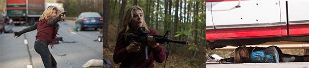 地を這い、隠れ、銃を握る──普通の高校生だったキャシーもサバイバルに挑むことに