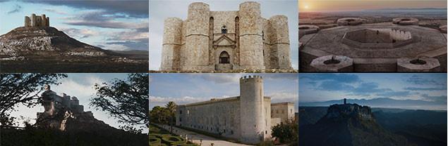 古城をはじめとする大パノラマで切り取られた歴史的建造物の数々は、息をのむ美しさだ