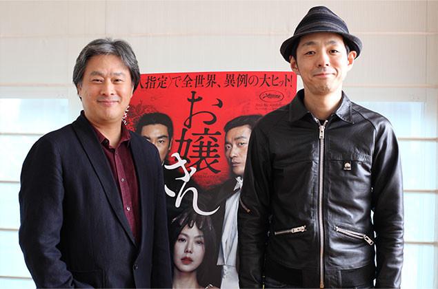 パク・チャヌク監督(写真左)と宮藤官九郎(写真右)、日韓の鬼才2人の対面が実現