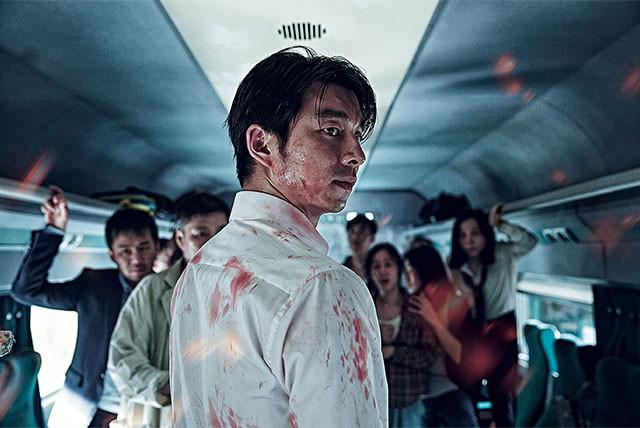 主人公ソグ(コン・ユ)は娘を連れて妻に会いに行くはずが、とんでもない目に……