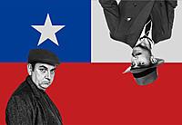 逃亡生活を余儀なくされたチリの英雄ネルーダと、彼を追う警官を描く異色サスペンス