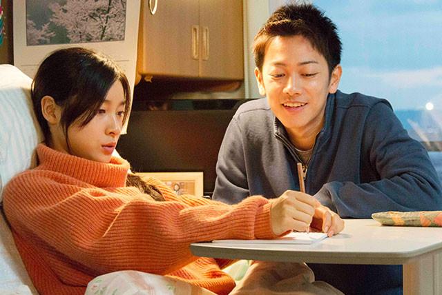 佐藤と土屋は撮影前、モデルとなったカップル本人の元を訪れ、綿密な取材を行ったそう