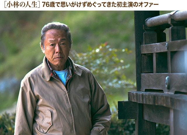 公私に渡って親交の深かった小林が、高倉健を想定して描かれた役を熱演